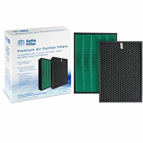 Fette Filter - 2 in 1 True HEPA & Activated Carbon Air Purifier Filter Compatibl