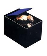 Retro Animated Coin Bank THING MAGIC HAND BLACK BOX MONEY TRAP Collectib... - $16.63