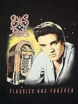 Vintage 1992 90's Elvis Presley Classics Are Forever Rock n Roll King T Shirt L - $27.71