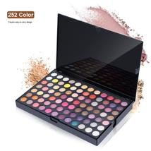 Professional 252 color Eyeshadow Palette Pigment Eye Shadow Palettes Mak... - $33.94
