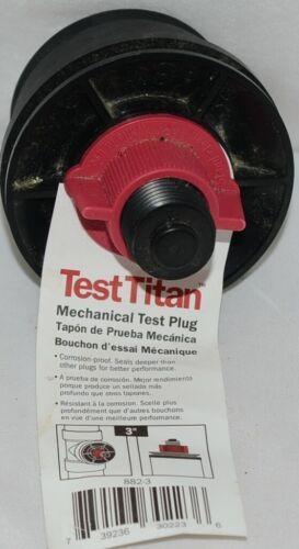 Souix Cheif Test Titan 8823 Mechanical Test Plug 3 Inch