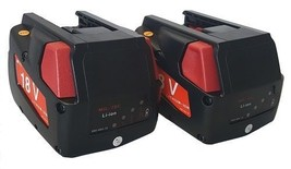 2 x 18V Volt 2.0Ah 2000mah for Milwaukee 48-11-1830 0824-24 Powertool Battery - $119.54