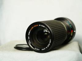 Canon FD Fit Hoya 80-200mm Zoom Macro Lens -Bokeh- A1 AE1 AE1P T90 F1N  - $20.00