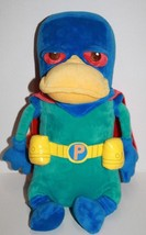 "Disney Store Exclusive Phineas Ferb PERRY 12"" Soft Toy Platypus Plush Cape Hero - $23.19"