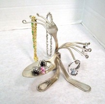 Hand Made Kitchen or Bedside Ring, Earring & Bracelet Jewelry Holder - $19.75