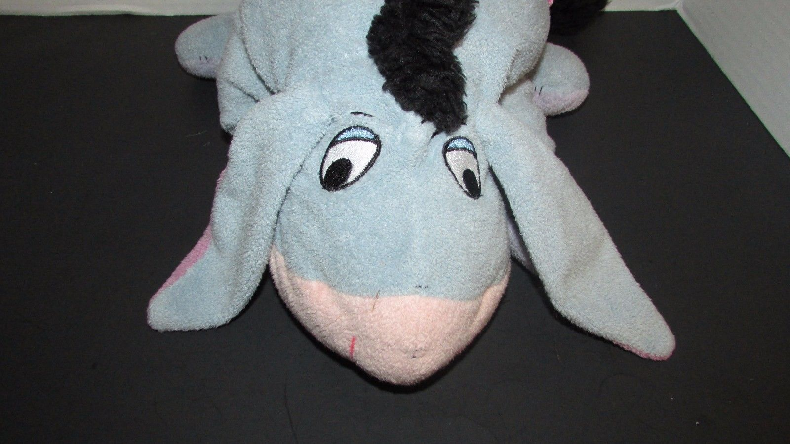 Disney Winnie the Pooh Classic Eeyore fleece plush Applause 14""