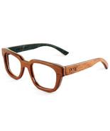 Proof Pledge Eco Pear Wood, Black and Red 47-19-145mm Eyeglasses - $29.69