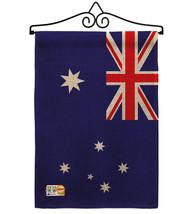 Australia Burlap - Impressions Decorative Metal Wall Hanger Garden Flag ... - $33.97