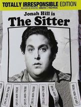 The Sitter (DVD, 2012, Totally Irresponsible Edition) - $9.95