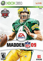 Madden NFL 09 (Microsoft Xbox 360, 2008) - DISC ONLY - NO CASE - $3.00