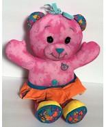 Pink Doodle Bear Plush Stuffed Animal Soft Toy Medium Size - $39.99