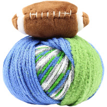 DMC Top This! Yarn-Team Colors Green/Blue - $9.90 CAD