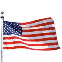 3x5 American Flag Polyester Stars Stripes Weather Resistant Indoor Outdoor  - $17.98