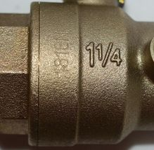 Watts Replaceable Seats Single Access Cover Quarter Turn Ball Valve Shutoff image 6