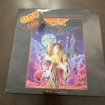 Ceaco Wizard of Creation Glow in the Dark 550 Piece Jigsaw Puzzle New READ - $9.89