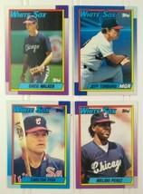 Topps Baseball Card Lot 4 1990 Chicago White Sox Cards #420 #621 #33 #21 - $10.00
