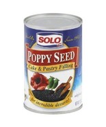 Solo Poppy Seed Cake & Pastry Filling, 12.5 Oz Cans (Pack of 6) - $19.57