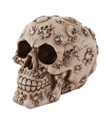 Pacific Giftware Skull Cross and Bones Skull Money Bank 4.25 Inches Hall... - $17.81