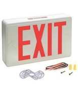 Preferred Industries E1025R (673061) Red LED Exit Sign AC Only 120/277VA... - $29.65