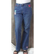 Banana Republic Blue Jeans 14 35w High Rise Older Denim Patched Womens I... - $42.08