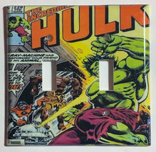 Hulk Comic Book Light Switch Duplex Outlet Wall Cover Plate & more Home decor image 4