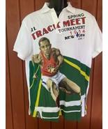 Polo Ralph Lauren Men's Custom Slim-Fit Track Graphic Polo Shirt med - $74.25