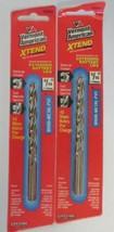 "Vermont American 12747 5/16"" XTEND Fractional Drill Bit 2PCS - $3.71"