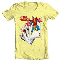 The Jack of Hearts t-shirt marvel comics Defenders retro silver age cotton tee image 1