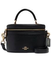 COACH Trail Bag in Smooth Leather Crossbody Tote Box Bag ~NWT~ Black 31730 - $383.64 CAD