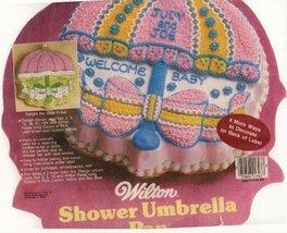 Wilton Cake Pan: Shower Umbrella (2105-2293, 1984) - €43,56 EUR