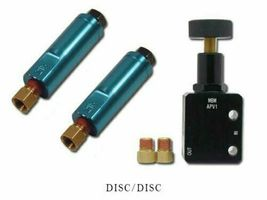 Adjustable Proportioning Valve With Residual Valve Kit Disc/Disc