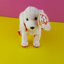 """Ty Beanie Babies Sonnet the Dog 6"""" Beanbag Plush Toy Pink Poodle 2003 - $8.91"""