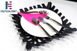 Al-Nurayn Stainless Steel Brass Flatware Cutlery Set Of 8 By NauticalMart - $169.00