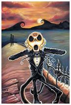 Jack Screams Fine Art Print Joey Rotten Skellington Nightmare Before Chr... - $23.00+
