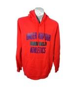 Under Armor Red Hoodie Coldgear Size XL Sweatshirt Mens Shirt  ?? - $32.94