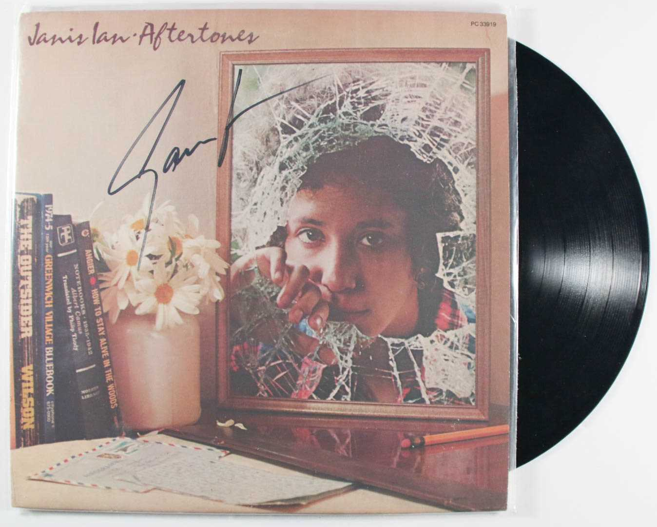 "Primary image for Janis Ian Signed Autographed ""Aftertones"" Record Album"