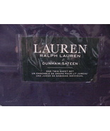 Ralph Lauren Dunham Cadet Blue Navy Sheet Set Twin - $68.00