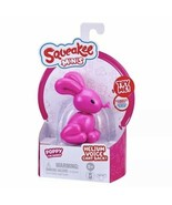 SQUEAKEE MINIS Pink POPPY The BUNNY Interactive Chat Back Balloon Toy NEW - $25.74