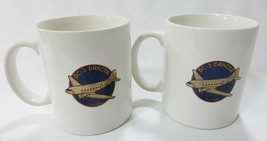 Memorabilia DC-Dakota white coffee mug advertising set of 2 - $27.02