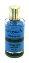 Vintage Yves Saint Laurent Rive Gauche Moisturizing Bath Oil - 75% FULL - $24.70