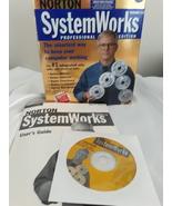 Symantic Norton SystemWorks Pro Edition  Version 2.0 - $20.68