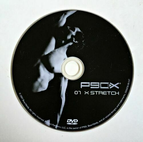 P90X Replacement DVD - 07 X STRETCH - Beachbody Extreme Home Fitness