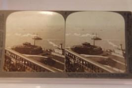 Antique Stereograph Stereoview Castle Garden Aquarium New York Underwood... - $18.69