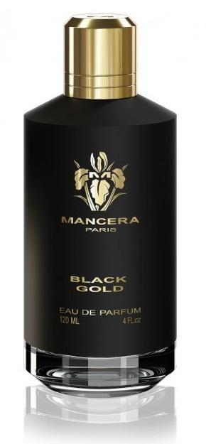 BLACK GOLD by MANCERA 5ml Travel Spray Perfume Vetiver Oud Citrus EDP