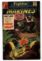 Fightin' Marines #71 1966- Charlton Comics- Silver Age War- VG/FN - $25.22