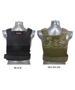 Tactical Scorpion Body Armor Plates 10x12 AR500 Bobcat Concealed Carrier... - $32.95