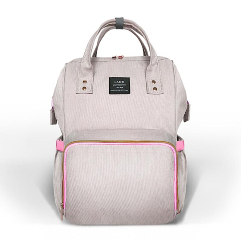 land diaper bag fashion double shoulder waterproof backpack carriers slings backpacks. Black Bedroom Furniture Sets. Home Design Ideas