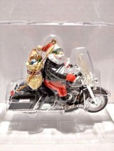 Harley-Davidson Motor Cycles King Of The Road Ornament w/ Chrome Ornamen... - $25.00