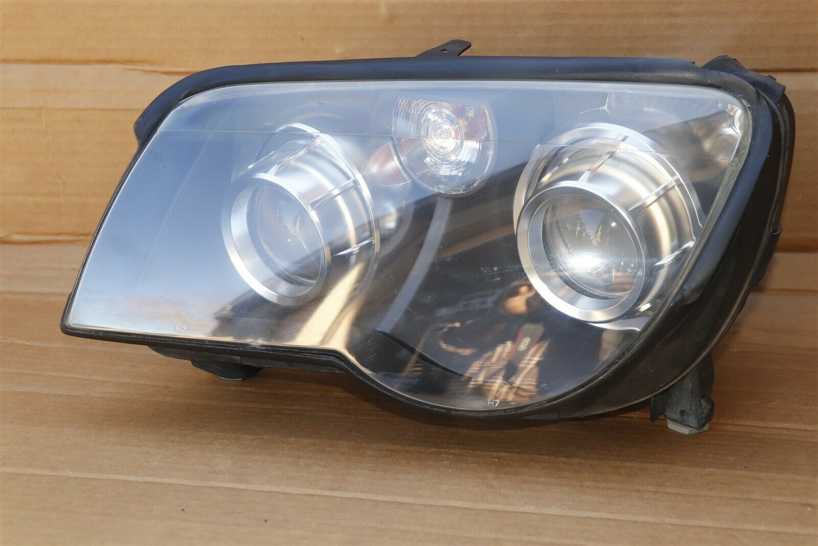 CrossFire Cross Fire Headlight Head Light Lamp Driver Left LH - POLISHED