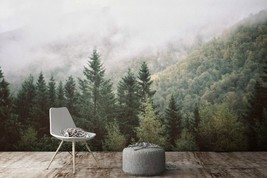 3D Cloud Forest PKE131 Business Wallpaper Wall Mural Self-adhesive Comme... - $13.49+